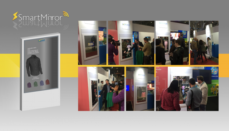 Smart Mirror Server Softwares para Varejo